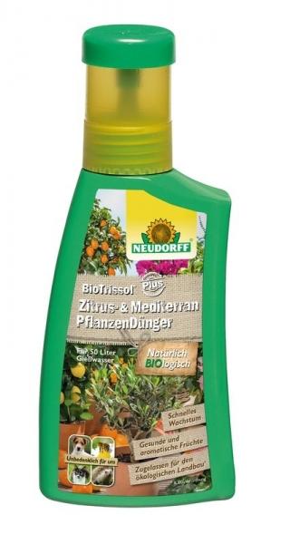 BioTrissol Plus Zitrus-& MediterranpflanzenDünger (250 ml)