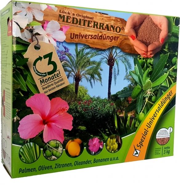 Spezial-Dünger für mediterrane Pflanzen (3kg)