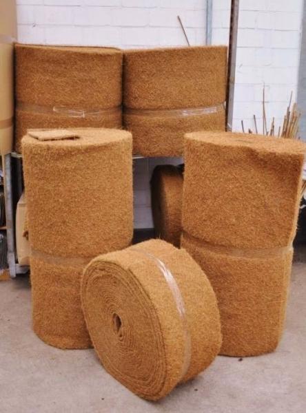 Kokosmatte für den Stammschutz (Winterschutz)