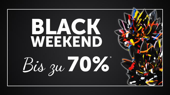 BLACK WEEKEND SALE*