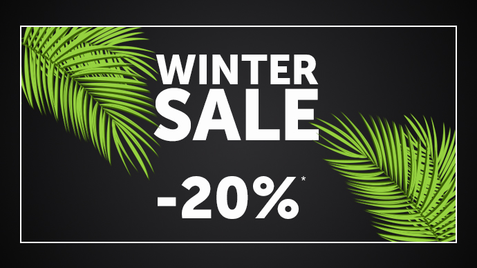 20% Winter Sale*