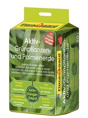 Spezialerde für Palmen und Grünpflanzen mit Düngerdepot