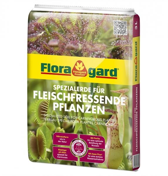 Floragard Spezialerde für Fleischfressende Pflanzen 3 Liter