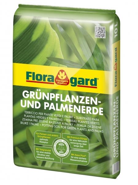 Floragard Grünpflanzen- und Palmenerde 10 Liter